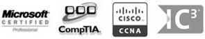 PC & Laptop Repair Accreditions & Certificates